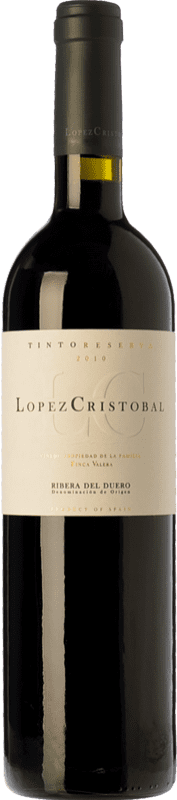 22,95 € Envoi gratuit   Vin rouge López Cristóbal Reserva D.O. Ribera del Duero Castille et Leon Espagne Tempranillo, Merlot Bouteille 75 cl