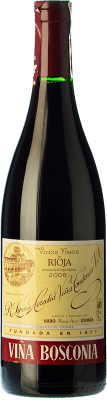 22,95 € Kostenloser Versand | Rotwein López de Heredia Viña Bosconia Reserva D.O.Ca. Rioja La Rioja Spanien Tempranillo, Grenache, Graciano, Mazuelo Flasche 75 cl