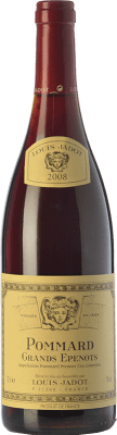 68,95 € Free Shipping | Red wine Louis Jadot 1r Cru Les Grands Epenots Crianza 2008 A.O.C. Pommard Burgundy France Pinot Black Bottle 75 cl
