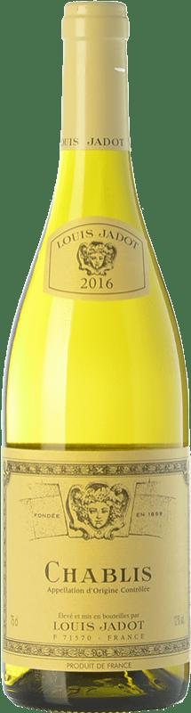 22,95 € Free Shipping | White wine Louis Jadot A.O.C. Chablis Burgundy France Chardonnay Bottle 75 cl