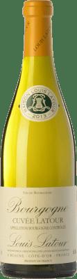 17,95 € Бесплатная доставка | Белое вино Louis Latour Cuvée Latour Blanc A.O.C. Bourgogne Бургундия Франция Chardonnay бутылка 75 cl