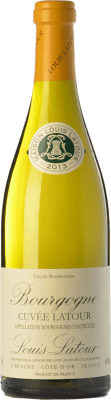 17,95 € Free Shipping | White wine Louis Latour Cuvée Latour Blanc A.O.C. Bourgogne Burgundy France Chardonnay Bottle 75 cl