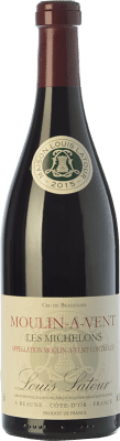 22,95 € Envío gratis | Vino tinto Louis Latour Les Michelons Joven A.O.C. Moulin à Vent Beaujolais Francia Gamay Botella 75 cl