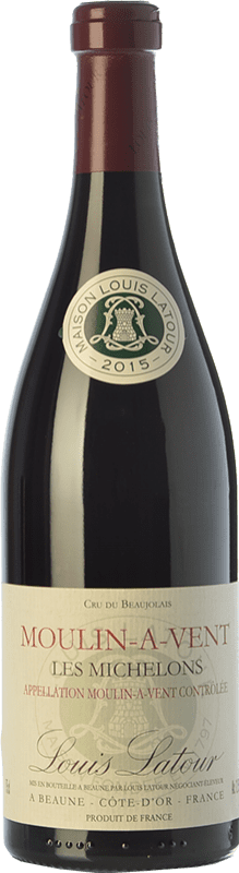 21,95 € Envío gratis   Vino tinto Louis Latour Les Michelons Joven A.O.C. Moulin à Vent Beaujolais Francia Gamay Botella 75 cl