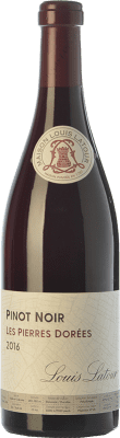 23,95 € Envío gratis | Vino tinto Louis Latour Les Pierres Dorées Joven A.O.C. Côtes de Bourg Bordeaux Francia Pinot Negro Botella 75 cl