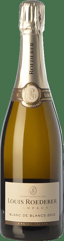 94,95 € Envoi gratuit | Blanc moussant Louis Roederer Blanc de Blancs Gran Reserva 2010 A.O.C. Champagne Champagne France Chardonnay Bouteille 75 cl