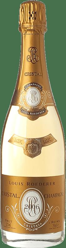 237,95 € Envoi gratuit | Blanc moussant Louis Roederer Cristal Brut Gran Reserva 2009 A.O.C. Champagne Champagne France Pinot Noir, Chardonnay Bouteille 75 cl
