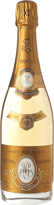 237,95 € Free Shipping | White sparkling Louis Roederer Cristal Brut Gran Reserva 2009 A.O.C. Champagne Champagne France Pinot Black, Chardonnay Bottle 75 cl