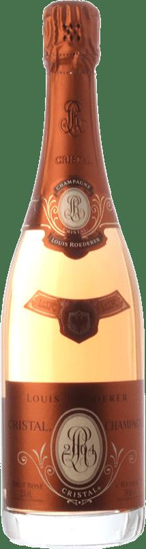 466,95 € Free Shipping | Rosé sparkling Louis Roederer Cristal Rosé Brut Gran Reserva 2009 A.O.C. Champagne Champagne France Pinot Black, Chardonnay Bottle 75 cl