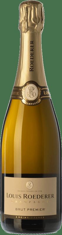 46,95 € Envoi gratuit | Blanc moussant Louis Roederer Premier Brut Gran Reserva A.O.C. Champagne Champagne France Pinot Noir, Chardonnay, Pinot Meunier Bouteille 75 cl