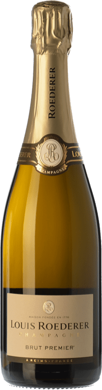 46,95 € Free Shipping | White sparkling Louis Roederer Premier Brut Gran Reserva A.O.C. Champagne Champagne France Pinot Black, Chardonnay, Pinot Meunier Bottle 75 cl