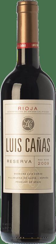 13,95 € Free Shipping | Red wine Luis Cañas Reserva D.O.Ca. Rioja The Rioja Spain Tempranillo, Grenache, Graciano, Mazuelo Bottle 75 cl