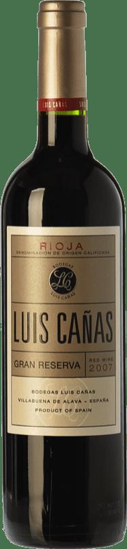 28,95 € Free Shipping | Red wine Luis Cañas Gran Reserva D.O.Ca. Rioja The Rioja Spain Tempranillo, Graciano Bottle 75 cl