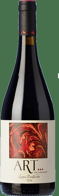22,95 € Free Shipping | Red wine Luna Beberide Art Crianza D.O. Bierzo Castilla y León Spain Mencía Bottle 75 cl