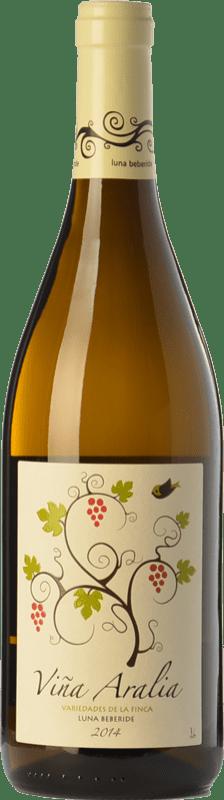 4,95 € Envío gratis   Vino blanco Luna Beberide Viña Aralia Joven I.G.P. Vino de la Tierra de Castilla y León Castilla y León España Chardonnay, Sauvignon Blanca, Gewürztraminer Botella 75 cl