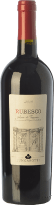 9,95 € Free Shipping | Red wine Lungarotti Rosso Rubesco D.O.C. Torgiano Umbria Italy Sangiovese, Colorino Bottle 75 cl