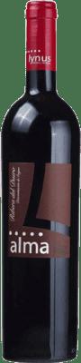 11,95 € Envío gratis | Vino tinto Lynus Alma López Crianza D.O. Ribera del Duero Castilla y León España Tempranillo Botella 75 cl