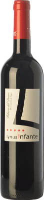 8,95 € Free Shipping | Red wine Lynus Infante Joven D.O. Ribera del Duero Castilla y León Spain Tempranillo Bottle 75 cl