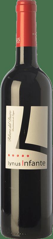 8,95 € Envío gratis | Vino tinto Lynus Infante Joven D.O. Ribera del Duero Castilla y León España Tempranillo Botella 75 cl