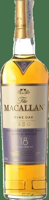 259,95 € Envoi gratuit | Whisky Single Malt Macallan Fine Oak 18 Highlands Royaume-Uni Bouteille 70 cl