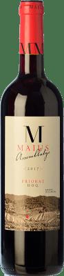 15,95 € Free Shipping | Red wine Maius Assemblage Crianza D.O.Ca. Priorat Catalonia Spain Grenache, Cabernet Sauvignon, Carignan Bottle 75 cl