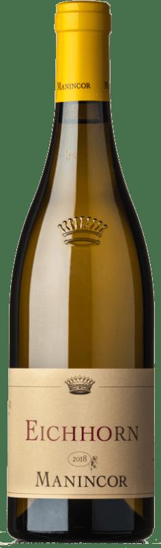 24,95 € Envoi gratuit | Vin blanc Manincor Pinot Bianco Eichhorn D.O.C. Alto Adige Trentin-Haut-Adige Italie Pinot Blanc Bouteille 75 cl