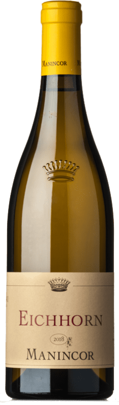 24,95 € Free Shipping | White wine Manincor Pinot Bianco Eichhorn D.O.C. Alto Adige Trentino-Alto Adige Italy Pinot White Bottle 75 cl