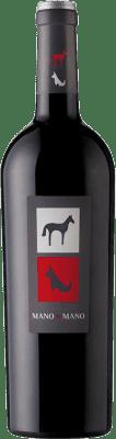 5,95 € Envío gratis | Vino tinto Mano a Mano Joven I.G.P. Vino de la Tierra de Castilla Castilla la Mancha España Tempranillo Botella 75 cl
