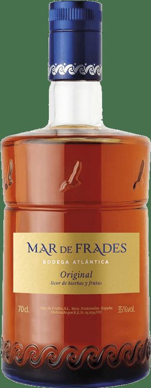 25,95 € Free Shipping | Herbal liqueur Mar de Frades Original D.O. Orujo de Galicia Galicia Spain Bottle 70 cl