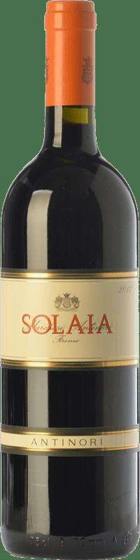 316,95 € Free Shipping   Red wine Marchesi Antinori Solaia Crianza I.G.T. Toscana Tuscany Italy Cabernet Sauvignon, Sangiovese, Cabernet Franc Bottle 75 cl
