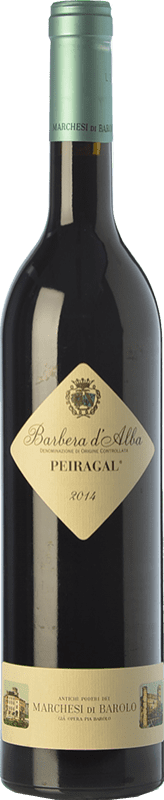 17,95 € Envoi gratuit | Vin rouge Marchesi di Barolo Peiragal D.O.C. Barbera d'Alba Piémont Italie Barbera Bouteille 75 cl