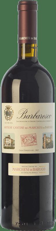 32,95 € Envoi gratuit | Vin rouge Marchesi di Barolo Riserva della Casa Reserva D.O.C.G. Barbaresco Piémont Italie Nebbiolo Bouteille 75 cl
