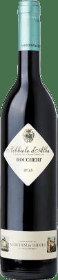 34,95 € Free Shipping | Red wine Marchesi di Barolo Roccheri D.O.C. Nebbiolo d'Alba Piemonte Italy Nebbiolo Bottle 75 cl