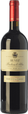 17,95 € Free Shipping | Red wine Marchesi di Barolo Ruvei D.O.C. Barbera d'Alba Piemonte Italy Barbera Bottle 75 cl