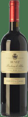 14,95 € Envoi gratuit | Vin rouge Marchesi di Barolo Ruvei D.O.C. Barbera d'Alba Piémont Italie Barbera Bouteille 75 cl