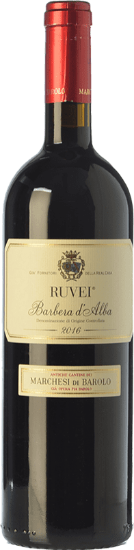 14,95 € Free Shipping   Red wine Marchesi di Barolo Ruvei D.O.C. Barbera d'Alba Piemonte Italy Barbera Bottle 75 cl