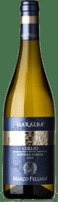17,95 € Free Shipping | White wine Marco Felluga Ribolla D.O.C. Collio Goriziano-Collio Friuli-Venezia Giulia Italy Ribolla Gialla Bottle 75 cl