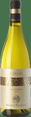 16,95 € Free Shipping | White wine Marco Felluga D.O.C. Collio Goriziano-Collio Friuli-Venezia Giulia Italy Sauvignon Bottle 75 cl