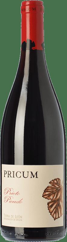 21,95 € Envío gratis | Vino tinto Margón Pricum Crianza D.O. León Castilla y León España Prieto Picudo Botella 75 cl