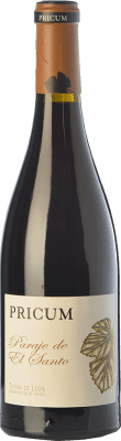31,95 € Free Shipping | Red wine Margón Pricum Paraje de El Santo Crianza 2011 D.O. Tierra de León Castilla y León Spain Prieto Picudo Bottle 75 cl | Thousands of wine lovers trust us to get the best price guarantee, free shipping always and hassle-free shopping and returns.