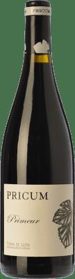 11,95 € Envío gratis | Vino tinto Margón Pricum Primeur Joven D.O. León Castilla y León España Prieto Picudo Botella 75 cl