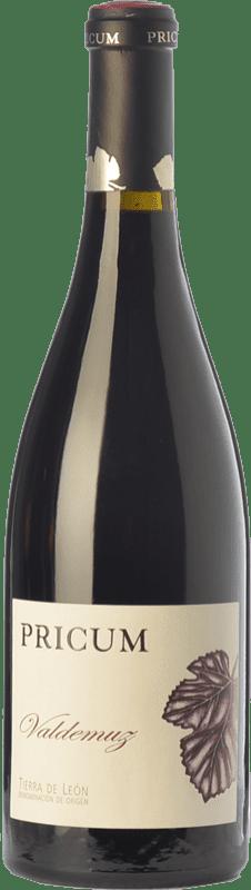 34,95 € Free Shipping | Red wine Margón Pricum Valdemuz Crianza D.O. Tierra de León Castilla y León Spain Prieto Picudo Bottle 75 cl