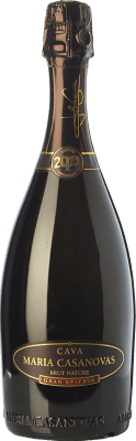 19,95 € Free Shipping | White sparkling Maria Casanovas Brut Nature Gran Reserva D.O. Cava Catalonia Spain Macabeo, Xarel·lo, Parellada Bottle 75 cl. | Thousands of wine lovers trust us to get the best price guarantee, free shipping always and hassle-free shopping and returns.