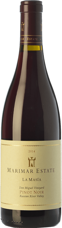39,95 € Free Shipping | Red wine Marimar Estate La Masía Joven I.G. Russian River Valley Russian River Valley United States Pinot Black Bottle 75 cl
