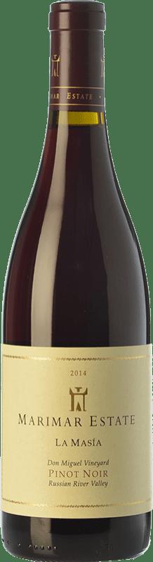 39,95 € Envoi gratuit | Vin rouge Marimar Estate La Masía Joven I.G. Russian River Valley Vallée de la rivière russe États Unis Pinot Noir Bouteille 75 cl