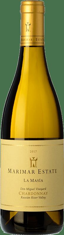 28,95 € Envoi gratuit | Vin blanc Marimar Estate La Masía Crianza I.G. Russian River Valley Vallée de la rivière russe États Unis Chardonnay Bouteille 75 cl