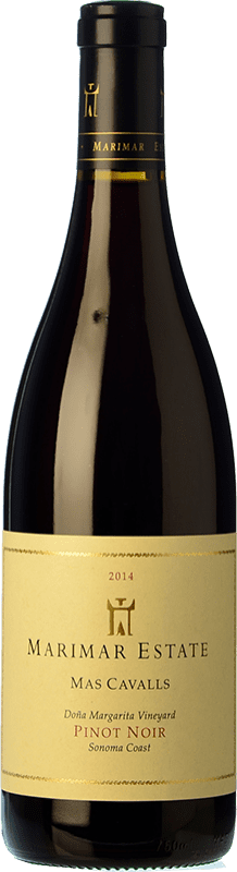 45,95 € Envoi gratuit | Vin rouge Marimar Estate Mas Cavalls Crianza I.G. Sonoma Coast Côte de Sonoma États Unis Pinot Noir Bouteille 75 cl