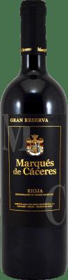 22,95 € Envoi gratuit | Vin rouge Marqués de Cáceres Gran Reserva D.O.Ca. Rioja La Rioja Espagne Tempranillo, Grenache, Graciano Bouteille 75 cl