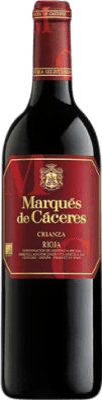 7,95 € Free Shipping | Red wine Marqués de Cáceres Crianza D.O.Ca. Rioja The Rioja Spain Tempranillo, Grenache, Graciano Bottle 75 cl