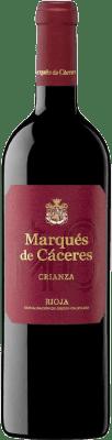 7,95 € Envoi gratuit | Vin rouge Marqués de Cáceres Crianza D.O.Ca. Rioja La Rioja Espagne Tempranillo, Grenache, Graciano Bouteille 75 cl